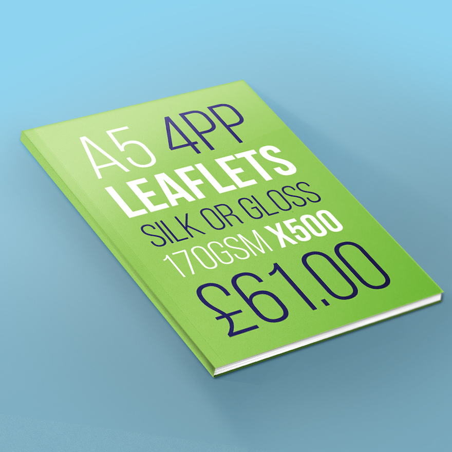 Business Leaflet Design | printing services newcastle