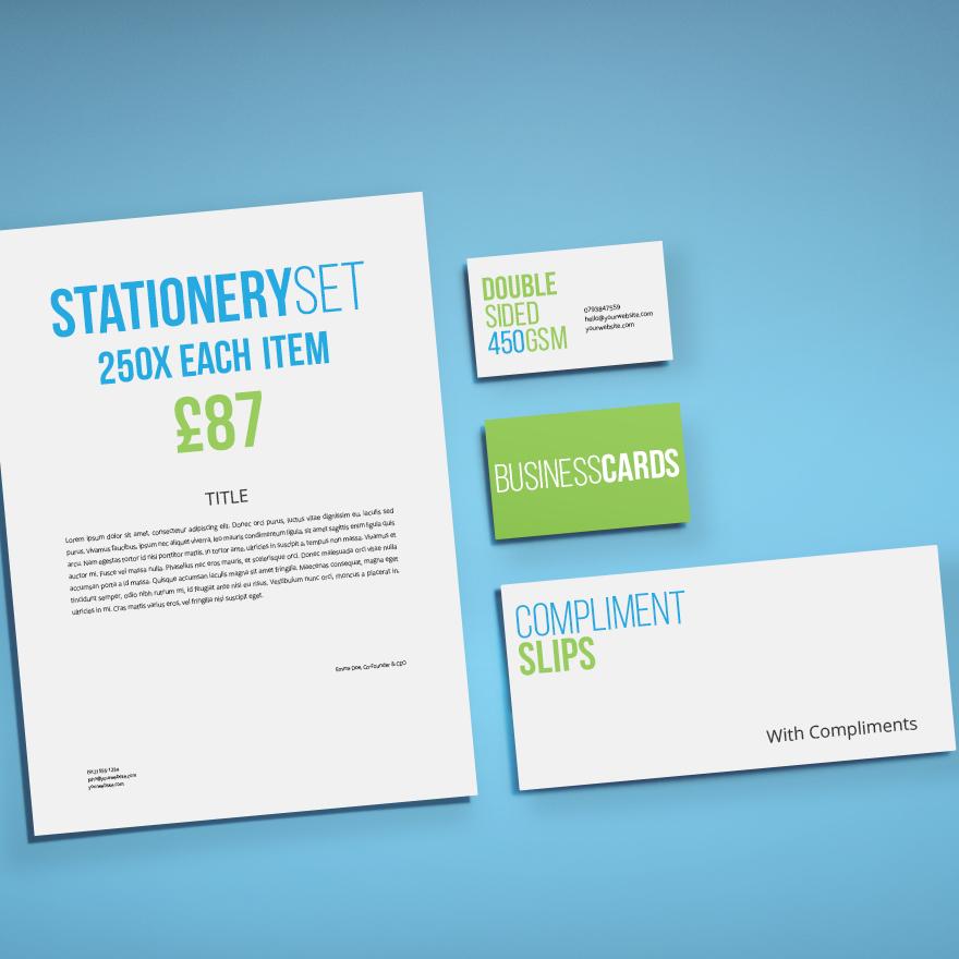 Business Stationery Printing UK
