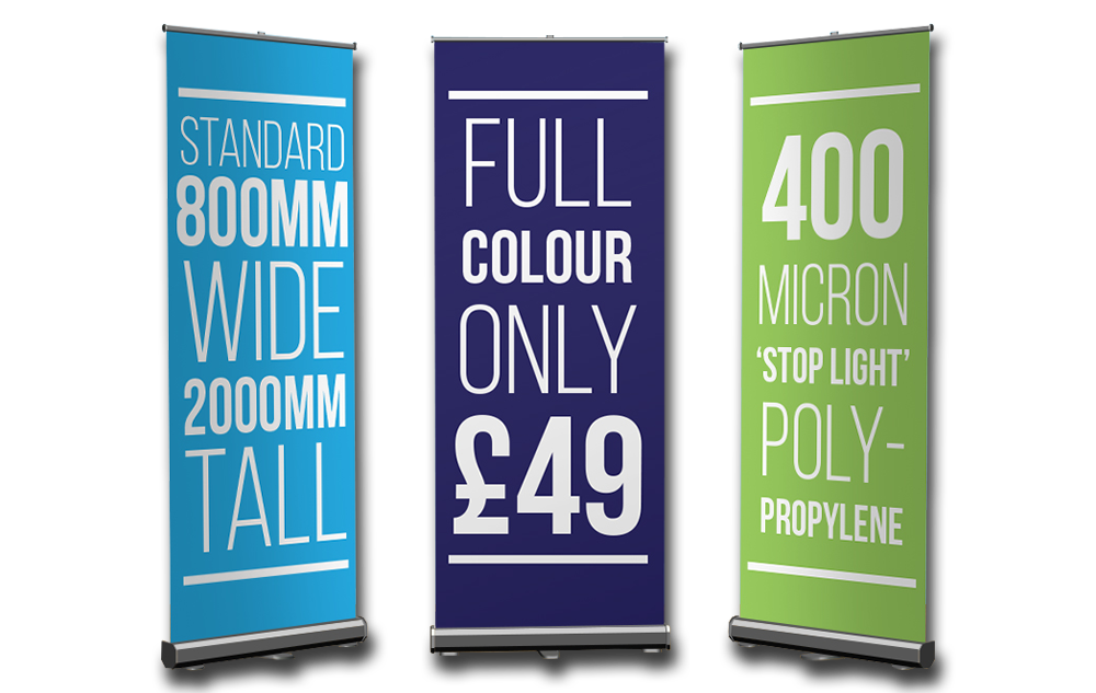 Newcastle Cheap Roller Banners